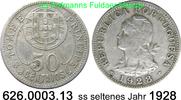 50 Centavos 1928 sankt Thomas und Prinzeni St. Thomé & Prince *3 KM1 se... 49,75 EUR  +  8,95 EUR shipping