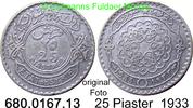 25 Piastres 1933 Syrien *8 KM73 geringe Auflage ss  45,00 EUR