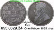1 Shilling 1895 Südafrika *5 KM5 s-s-  24,75 EUR  +  8,95 EUR shipping