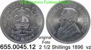 2 1/2 Shilling 1896 Südafrika South Africa Ohm Krüger *7 KM7 vz  75,00 EUR  +  8,95 EUR shipping