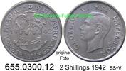 2 Shillings 1942 Südafrika South Africa *41 KM29 ss-v  25,00 EUR  +  8,95 EUR shipping
