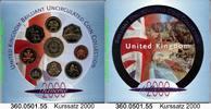4,38 Pounds 2000 Great Britain Großbritannien Kursmünzensatz . 360.0501... 21,00 EUR