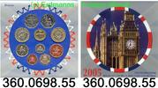 6,38 Pounds 2005 Großbritannien Great Britain Kursmünzensatz . 360.0698... 24,00 EUR  +  8,95 EUR shipping