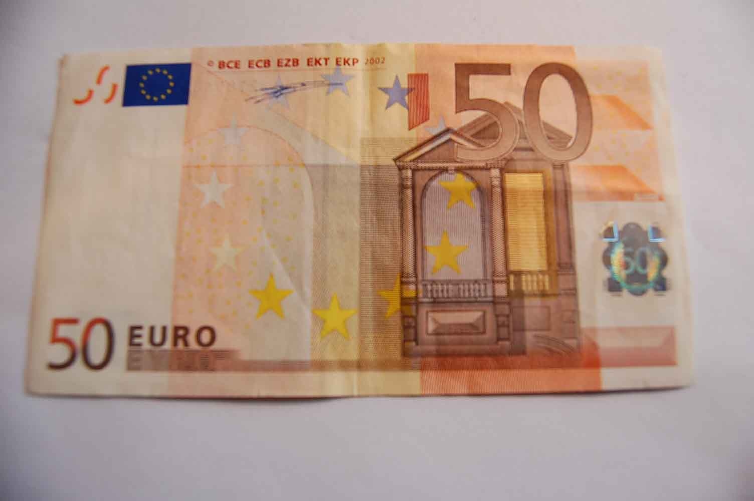 Fehldruck 50 Euro Schein