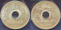 5 Heller 1913 A Kolonien / Ostafrika Deutsch-Ostafrika 5 Heller 1913A (... 125,00 EUR  +  7,50 EUR shipping