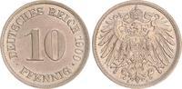 10 Pfennig 1900 A Deutschland / Kaiserreich Kaiserreich 10 Pf. J.13  19... 25,00 EUR  +  7,50 EUR shipping