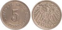 5 Pfennig 1903 E Deutschland / Kaiserreich Kaiserreich 5 Pf. J.13  1903... 50,00 EUR  +  7,50 EUR shipping