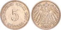 5 Pfennig 1907 G Deutschland / Kaiserreich Kaiserreich 5 Pf. J.13  1907... 50,00 EUR  +  7,50 EUR shipping