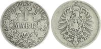 1 Mark 1882 H Deutschland / Kaiserreich 1 Mark kleiner Adler J.9  1883 ... 65,00 EUR  +  7,50 EUR shipping
