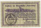 Kriegsmarine 50 Pfennig Gutschein Hindenburg 25.Febr. 1919 Kaiserreich ... 60,00 EUR  +  7,50 EUR shipping