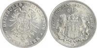 2 Mark 1878 J Kaiserreich / Hamburg Kaiserreich Hamburg 2 Mark kleiner ... 750,00 EUR  +  8,95 EUR shipping