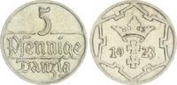 5 Pfennig 1923 Polen / Danzig Polen / Danzig 5 Pfennig 1923 vz-st vz-st  20,00 EUR  +  7,50 EUR shipping