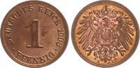 1 Pfennig 1903 A Deutschland / Kaiserreich Kaiserreich 1 Pf. J.10  1903... 20,00 EUR  +  7,50 EUR shipping