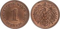 1 Pfennig 1892 E Deutschland / Kaiserreich Kaiserreich 1 Pf. J.10  1892... 75,00 EUR  +  7,50 EUR shipping