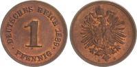 1 Pfennig 1889 E Kaiserreich 1 Pfennig 1889 E   prägefrisch-st prägefri... 50,00 EUR  +  7,50 EUR shipping