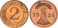 2 Pfennig 1924 E Deutschland / Weimar Weimar 2 Reichspfennig 1924 E PP ... 35,00 EUR  +  7,50 EUR shipping