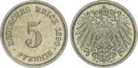 5 Pfennig 1890 E Deutschland / Kaiserreich Kaiserreich 5 Pf. J.12  1890... 70,00 EUR  +  7,50 EUR shipping