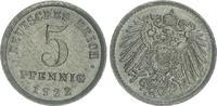 5 Pfennig 1922 E Deutschland / Kaiserreich Kaiserreich 5 Pf. J.297  192... 20,00 EUR  +  7,50 EUR shipping