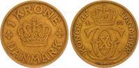 1 Krone 1931 Dänemark Dänemark, 1 Krone 1931 ss Al/Bro ss  15,00 EUR  +  6,50 EUR shipping