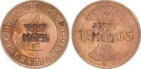 1 Pfennig 1935 A 3. Reich 3. Reich 1 Pf. 1935 mit Gegenstempel M III/a ... 30,00 EUR  +  7,50 EUR shipping