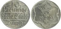 10 Pfennig 1923 Polen / Danzig Polen / Danzig 10 Pfennig 1923 fast Stem... 40,00 EUR  +  7,50 EUR shipping