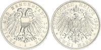 2 Mark 1904 A Lübeck Kaiserreich Lübeck 2 Mark 1904 A fast Stempelglanz  250,00 EUR  +  7,50 EUR shipping