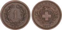 1 Rappen 1876 1876 Schweiz Schweiz 1 Rappen 1876,vz vz  60,00 EUR  +  7,50 EUR shipping