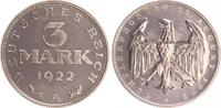 3 Mark 1922 A Deutschland / Weimar / Inflation Inflationszeit 3 Mark Al... 125,00 EUR  +  7,50 EUR shipping