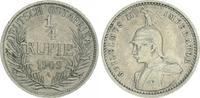 1/4. Rupie 1909 A Kolonien Deutsch-Ostafrika Deutsch-Ostafrika 1/4. Rup... 60,00 EUR  +  7,50 EUR shipping