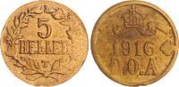 5 Heller 1916T Kolonien Deutsch-Ostafrika Deutsch-Ostafrika 5 Heller J.... 95,00 EUR  +  7,50 EUR shipping