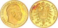 20 Mark Gold, Nachprägung 1871A/2001 Deutschland / Kaiserreich / Preuße... 20,00 EUR  +  7,50 EUR shipping