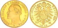 20 Mark Gold, Nachprägung 1872E/2001 Deutschland / Kaiserreich /Sachsen... 25,00 EUR  +  7,50 EUR shipping