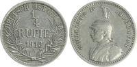 1/4. Rupie 1913 A Kolonien Deutsch-Ostafrika Deutsch-Ostafrika 1/4. Rup... 65,00 EUR  +  7,50 EUR shipping