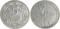 5 Mark 1925 F Deutschland / WEIMAR WEIMAR Rheinlande 5 Mark J.322 1925 ... 85,00 EUR  +  7,50 EUR shipping