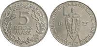 5 Mark 1925 D Deutschland / WEIMAR WEIMAR Rheinlande 5 Mark J.322 1925 ... 145,00 EUR  +  7,50 EUR shipping