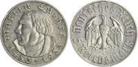 Deutschland /3. Reich 5 Mark Luther 3. Reich 5 Mark J.353 1933 A Luther  ss-vz