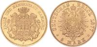 5 Mark Gold 1877 J Hamburg Hamburg vz  625,00 EUR  +  8,95 EUR shipping