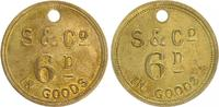 Token Fa. Strachan 1874-1915 Südafrika Südafrika Token Fa. Strachan aus... 60,00 EUR  +  7,50 EUR shipping