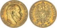 10 Mark Gold 1873 A Preußen Preußen 10 Mark 1873A Wilhelm I. J.242  ss+... 195,00 EUR  +  7,50 EUR shipping