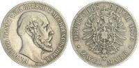 2 Mark 1876 A Kaiserreich / Mecklenburg-Schwerin Mecklenburg-Schwerin  ... 210,00 EUR  +  7,50 EUR shipping