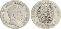 2 Mark 1876 H Hessen 2 Mark Silber 1876 H Hessen Ludwig III. s-ss s-ss  180,00 EUR  +  7,50 EUR shipping