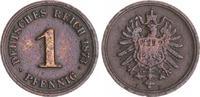 1 Pfennig 1873B Kaiserreich 1 Pfennig 1873B seltener Jahrgang  f.ss f.ss  395,00 EUR  +  8,95 EUR shipping