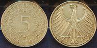 5 DM 1958 J Deutschland 5 DM J.387 Silber Kursmünze  1958 J  ss ss  325,00 EUR