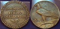 Große Medaille Ehrenpreis des Reichspräsidenten 1928 Deutschland / Weim... 95,00 EUR