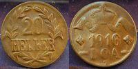 20 Heller 1916T Kolonien Deutsch-Ostafrika Deutsch-Ostafrika 20 Heller ... 110,00 EUR