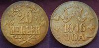 20 Heller 1916T Kolonien Deutsch-Ostafrika Deutsch-Ostafrika 20 Heller ... 125,00 EUR