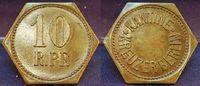 10 Pf.  Schiffsgeld Kreuzer Berlin ca. 1914 Kolonien / Agadir, Nord-Ost... 245,00 EUR