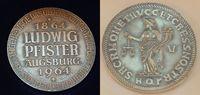 Augsburg Silber Medaille LUDWIG PFISTER 25.Juni 1830 Deutschland/ Augsb... 40,00 EUR  +  7,50 EUR shipping