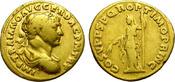 Aureus. AD 98-117 Rome. Traian. Affordable...