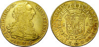 Spain. 8 escudos. Carlos IIII. Madrid PJ. Scarce.